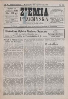 Ziemia Przemyska. 1926, R. 12, nr 40-44 (październik)