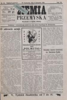 Ziemia Przemyska. 1926, R. 12, nr 45-48 (listopad)