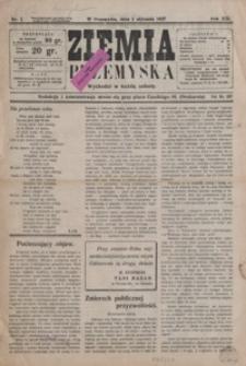 Ziemia Przemyska. 1927, R. 13, nr 1-5 (styczeń)