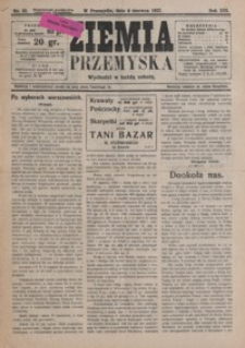 Ziemia Przemyska. 1927, R. 13, nr 23-26 (czerwiec)