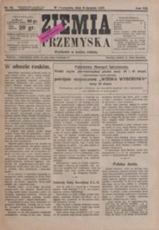 Ziemia Przemyska. 1927, R. 13, nr 32-35 (sierpień)