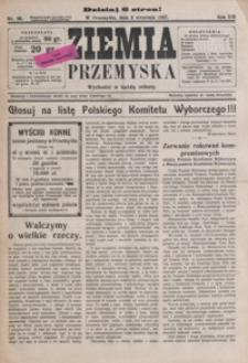 Ziemia Przemyska. 1927, R. 13, nr 36-39 (wrzesień)