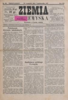Ziemia Przemyska. 1927, R. 13, nr 40-44 (październik)