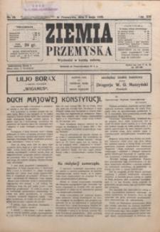 Ziemia Przemyska. 1928, R. 14, nr 19-22 (maj)