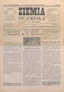 Ziemia Przemyska. 1928, R. 14, nr 43, 45-46 (październik)