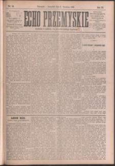 Echo Przemyskie : organ Stronnictwa Katolicko-Narodowego. 1898, R. 3, nr 44-52 (czerwiec)