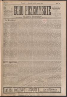 Echo Przemyskie : organ Stronnictwa Katolicko-Narodowego. 1899, R. 4, nr 10-17 (luty)