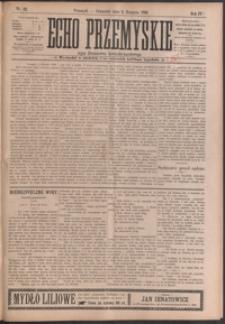Echo Przemyskie : organ Stronnictwa Katolicko-Narodowego. 1899, R. 4, nr 62-70 (sierpień)