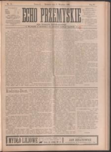 Echo Przemyskie : organ Stronnictwa Katolicko-Narodowego. 1899, R. 4, nr 71-78 (wrzesień)