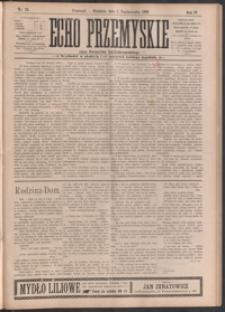 Echo Przemyskie : organ Stronnictwa Katolicko-Narodowego. 1899, R. 4, nr 79-87 (październik)