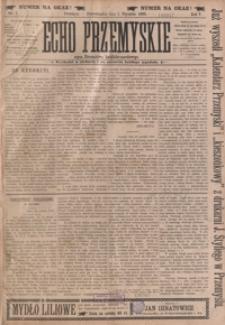 Echo Przemyskie : organ Stronnictwa Katolicko-Narodowego. 1900, R. 5, nr 1-9 (styczeń)