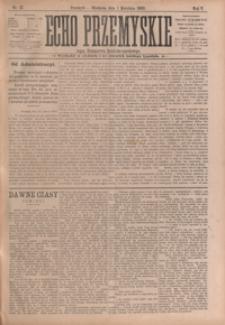 Echo Przemyskie : organ Stronnictwa Katolicko-Narodowego. 1900, R. 5, nr 27-35 (kwiecień)