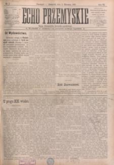 Echo Przemyskie : organ Stronnictwa Katolicko-Narodowego. 1901, R. 6, nr 1-9 (styczeń)
