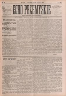 Echo Przemyskie : organ Stronnictwa Katolicko-Narodowego. 1901, R. 6, nr 27-34 (kwiecień)