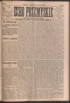 Echo Przemyskie : organ Stronnictwa Katolicko-Narodowego. 1901, R. 6, nr 53-60 (lipiec)