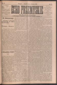 Echo Przemyskie : organ Stronnictwa Katolicko-Narodowego. 1901, R. 6, nr 61-69 (sierpień)