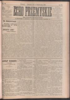 Echo Przemyskie : organ Stronnictwa Katolicko-Narodowego. 1901, R. 6, nr 79-87 (październik)