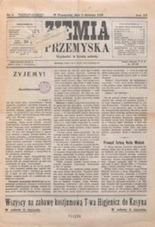 Ziemia Przemyska. 1929, R. 15, nr 1-4 (styczeń)