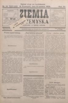 Ziemia Przemyska. 1929, R. 15, nr 14-17 (kwiecień)