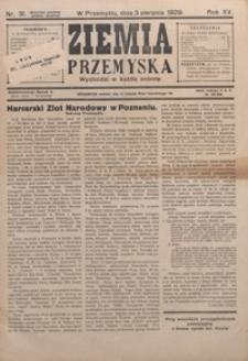 Ziemia Przemyska. 1929, R. 15, nr 31-35 (sierpień)