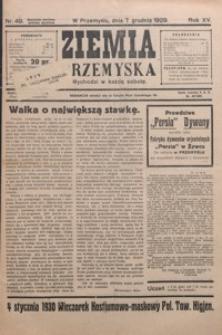 Ziemia Przemyska. 1929, R. 15, nr 49-54 (grudzień)