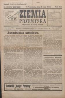 Ziemia Przemyska. 1930, R. 16, nr 28-33 (maj)