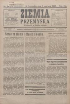 Ziemia Przemyska. 1930, R. 16, nr 34-37 (czerwiec)