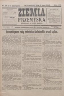 Ziemia Przemyska. 1930, R. 16, nr 38-42 (lipiec)