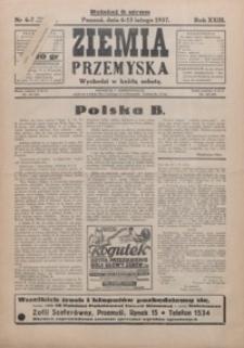Ziemia Przemyska. 1937, R. 23, 6-9 (luty)