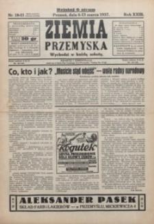 Ziemia Przemyska. 1937, R. 23, 10-14 (marzec)