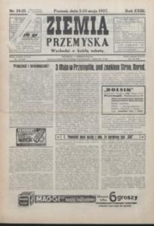 Ziemia Przemyska. 1937, R. 23, 19-23 (maj)