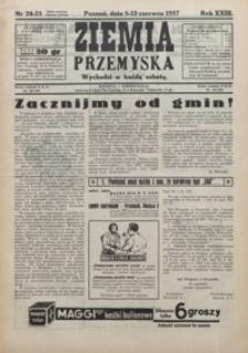 Ziemia Przemyska. 1937, R. 23, 24-27 (czerwiec)