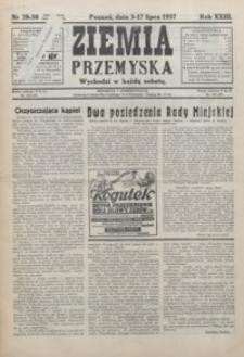 Ziemia Przemyska. 1937, R. 23, 28-32 (lipiec)