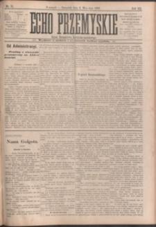 Echo Przemyskie : organ Stronnictwa Katolicko-Narodowego. 1902, R. 7, nr 71-78 (wrzesień)