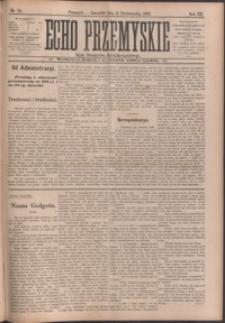 Echo Przemyskie : organ Stronnictwa Katolicko-Narodowego. 1902, R. 7, nr 79-87 (październik)