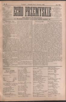 Echo Przemyskie : organ Stronnictwa Katolicko-Narodowego. 1903, R. 8, nr 27-35 (kwiecień)