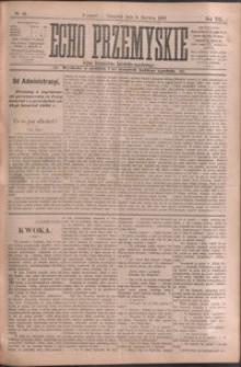 Echo Przemyskie : organ Stronnictwa Katolicko-Narodowego. 1903, R. 8, nr 45-51 (czerwiec)