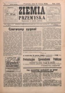 Ziemia Przemyska. 1938, R. 24, nr 11-13 (marzec)