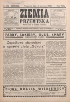Ziemia Przemyska. 1938, R. 24, nr 23-26 (czerwiec)