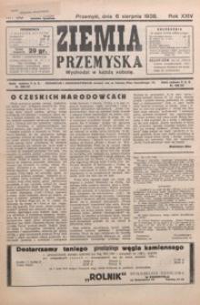 Ziemia Przemyska. 1938, R. 24, nr 30-33 (sierpień)