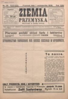 Ziemia Przemyska. 1938, R. 24, nr 38-42 (październik)