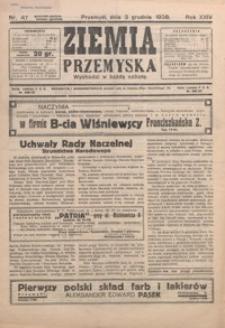 Ziemia Przemyska. 1938, R. 24, nr 47-51 (grudzień)
