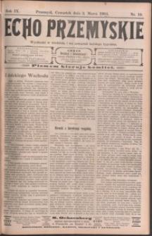 Echo Przemyskie : organ Stronnictwa Katolicko-Narodowego. 1904, R. 9, nr 19-27 (marzec)