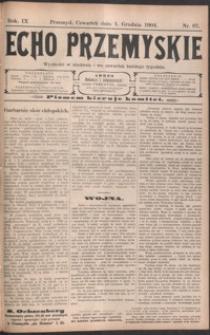 Echo Przemyskie : organ Stronnictwa Katolicko-Narodowego. 1904, R. 9, nr 97-105 (grudzień)