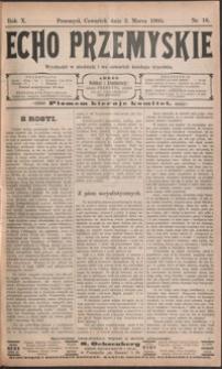 Echo Przemyskie : organ Stronnictwa Katolicko-Narodowego. 1905, R. 10, nr 18-26 (marzec)