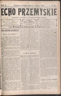 Echo Przemyskie : organ Stronnictwa Katolicko-Narodowego. 1905, R. 10, nr 97-104 (grudzień)