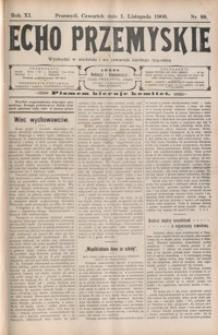Echo Przemyskie : organ Stronnictwa Katolicko-Narodowego. 1906, R. 11, nr 88-96 (listopad)
