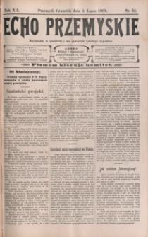 Echo Przemyskie : organ Stronnictwa Katolicko-Narodowego. 1907, R. 12, nr 53-60 (lipiec)