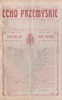 Echo Przemyskie : organ Stronnictwa Katolicko-Narodowego. 1909, R. 14, nr 35-43 (maj)