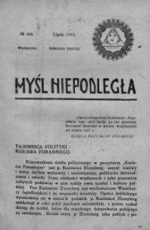 Myśl Niepodległa 1913 nr 248
